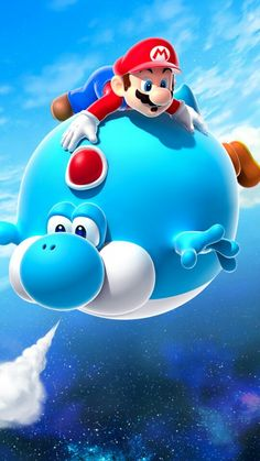 Balloon Yoshi From Super Mario Galaxy Photo: This Photo was uploaded by KrazyKobraRawr. Find other Balloon Yoshi From Super Mario Galaxy pictures .