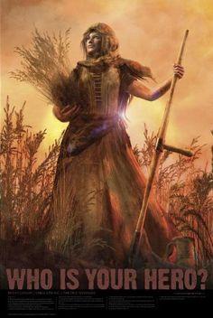 "Christian Bible Hero Poster 24""x 36"" Matte Finish Print - Ruth's Loyalty Poster - Ruth 1 - http://mormonfavorites.com/christian-bible-hero-poster-24x-36-matte-finish-print-ruths-loyalty-poster-ruth-1-2/  #LDS #MormonFavorites #LDSGems"