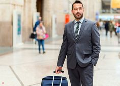 Are you getting your money's worth when you travel business class? We break down all the amenities to give you the complete details. Hint: there's a tip on how you can save on your next business class ticket as well.  #business #class #tickets Business Class Tickets, Business Travel, Suit Jacket, Jacket, Suit Jackets