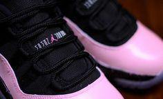 "2c04fda96a7 Customer PK Zuniga took to a pair of Air Jordan 11 Low to create a symbolic  sneaker. The Air Jordan 11 Low ""Breast Cancer Awareness"" Custom was made  for ..."
