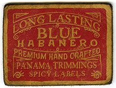 Leather Label - Panama Trimmings - Italy