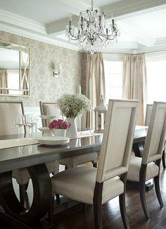 Elegant Dining Room Ideas: The Elegant Abode LI Dining Room Glam Dining Room, Crystal Elegant Dining Room, Luxury Dining Room, Dining Room Sets, Dining Room Chairs, Dining Room Furniture, Dining Tables, Furniture Design, Luxury Furniture, Round Tables