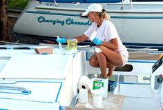 How to Paint Sailboat Decks