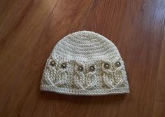 Its a hoot! an Owl Hat (Baby, Child, Adult)