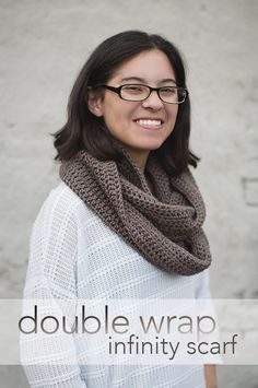 The Double Wrap Infinity Scarf by Little Monkeys Crochet makes a warm and thoughtful gift! Make it with Vanna's Choice and a size H (5mm) crochet hook.