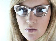 Vintage 50s AS IS Fawn Cat Eye Eyeglasses