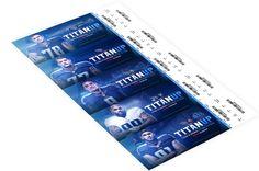 Tennessee Titans Season Tickets on Behance