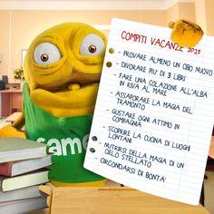 Spero di riuscire a completare tutta la lista di compiti per le vacanze