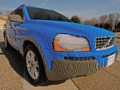 Volvo made out of Legos! I want one