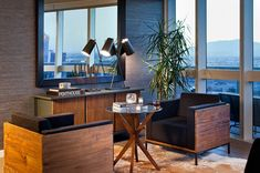 Urban sophistication: The Martin offers peerless high-rise living above the famed Las Vegas Strip. Amenities to savor include: a  tranquil pool with cabanas, a spa and steam room, and a fitness center with yoga studio.