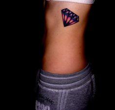 piercing pink diamonds tattoo tattoo of diamonds design black Diamond Tattoo Meaning, Diamond Tattoo Designs, Tattoos With Meaning, Berg Tattoo, I Tattoo, Piercing Tattoo, Diamonds Tattoo, Girl Tattoos, Tattoos For Women