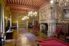 Gallery, Chateau du Lude.