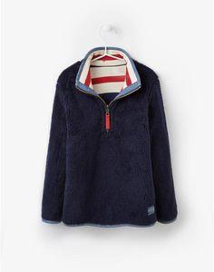 JNRTHOMASHalf Zip Reversible Sweatshirt Fleece