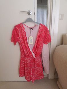 LADIES PARISIAN COLLECTION PLAYSUIT (S/M) BNWT #PARISIANCOLLECTION