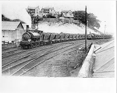 Coal Train on incline, Newcastle, NSW, [n.d.] | Flickr - Photo Sharing!