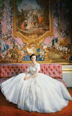 a72348e8b Princess Margaret in Dior in 1951 by Cecil Beaton Elisabeth Ii