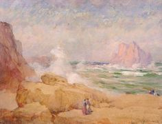 On the Coast of California by William Henry Holmes / American Art