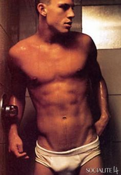 Channing Tatum shirtless photos six pack nude model underwear