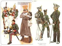 Imperial Russian Infantry