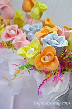 Mothers Day Cake Ideas: Flower Cake Pops