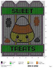 MumstheWordPCPatterns Plastic Canvas Christmas, Plastic Canvas Crafts, Plastic Canvas Patterns, Tissue Box Covers, Tissue Boxes, Halloween Patterns, Halloween Crafts, Candy Canes, Candy Corn