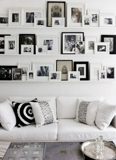 """Photo Gallery Walls are great conversation starters and a perfect accent to any room in your home. We've got 3 tips to make them shine!   1. Tell A Story Make a personal statement in your home by creating a wall """"story"""". Photo Gallery Walls can also be used as a unique way to … … Continue reading →"""