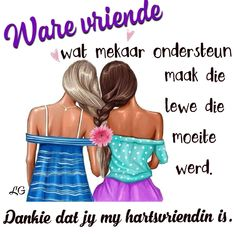 Afrikaanse Quotes, Quote Posters, Friendship Quotes, Best Friends, Bible, Messages, Words, Funny, Goeie Nag