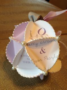 Invitation Ornament  Handmade from your by InvitationsbyRachel, $30.00