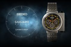 This Seiko Giugiaro 7A28-7000 watch is probably the most famous of all Seiko Giugiaro watches not only because of its unique design, but also because James Cameron (or someone on the crew of Aliens) decided that it should be on the wrist of the main protagonist Ellen Ripley, played by actress Sigourney Weaver - who kicked some serious Xenomorph-alien-ass while wearing one.