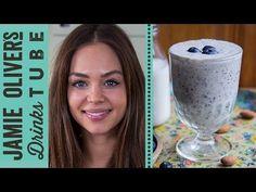 Dairy-Free Blueberry & Banana Milkshake   Danielle Hayley - YouTube