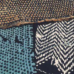 From the North side area in Japan🌊🌊🌊 #sashiko #madeinjapan #aizome #japaneseboro #embroidery #sashikostitching #handstitch #handstitched #boro #kofu #indigo #indigodye