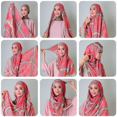 Tutorial Hijab By Mayra Hijab: Tutorial Pake Hijab Untuk Pemula