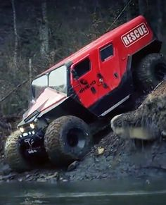 Meet Romania's awesome off-road fire and rescue truck ---- holy cow, batman!