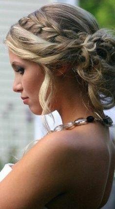 50 idées pour votre coiffure mariage cheveux mi,longs