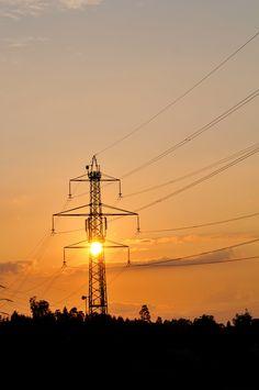 Electric sunset 1