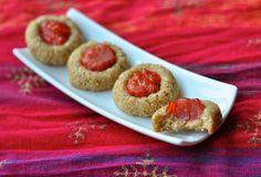 Sweet Strawberry Thumbprints - Vegan Lisa