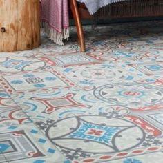 Moroccan Vinyl Sheet flooring Safi 02 in situ
