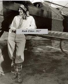 Ruth Elder, 1927