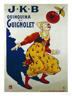 J.K.B, Quinquina au Guignolet, 1900