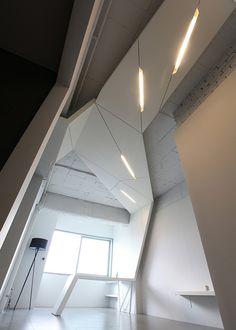 Futuristic House Wing by AnLstudio, Seoul, Korea.