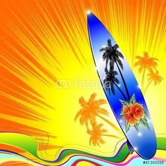 Sold! ☀ #Bright #Tropical #Surf! ☀ by #BluedarkArt on #Fotolia!  https://it.fotolia.com/id/41300095