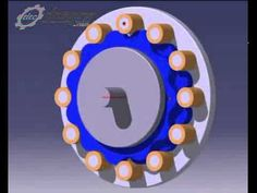 Mo phong giam toc cyclo Cycloid Speed Reducers Gear box.mp4 - YouTube