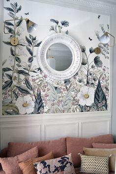 Boutique l'Atelier Pastel de Mona Jafarian - Décor panoramique Botanical Garden d'Au fil des Couleurs