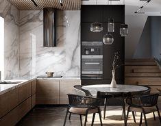 Loft Interior, Copper Interior, Luxury Interior, Kitchen Interior, Interior Design Living Room, Interior Architecture, Kitchen Decor, Kitchen Hacks, Diy Kitchen