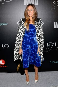 Sarah Jessica Parker in Oscar de la Renta   http://www.huffingtonpost.com/2014/05/09/best-dressed-list_n_5290420.html?utm_hp_ref=fashion-trends