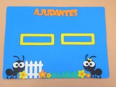 painel ajudante do dia para sala de aula www.petilola.com.br