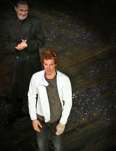 Emotion filled ending to the best Hamlet performance I have ever seen.