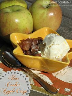Slow cooker apple cr