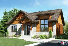 Champêtre, Bordure de lac / Chalet | LAP0376 | Maison Laprise - Maisons pré-usinées