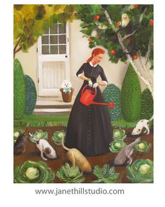 Miss Moon Was A Dog Governess. Lesson Eighteen: Nurture The Environment.....Art…